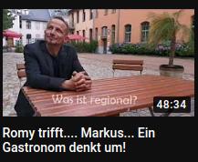 Romy trifft…. Markus… Ein Gastronom denkt um!